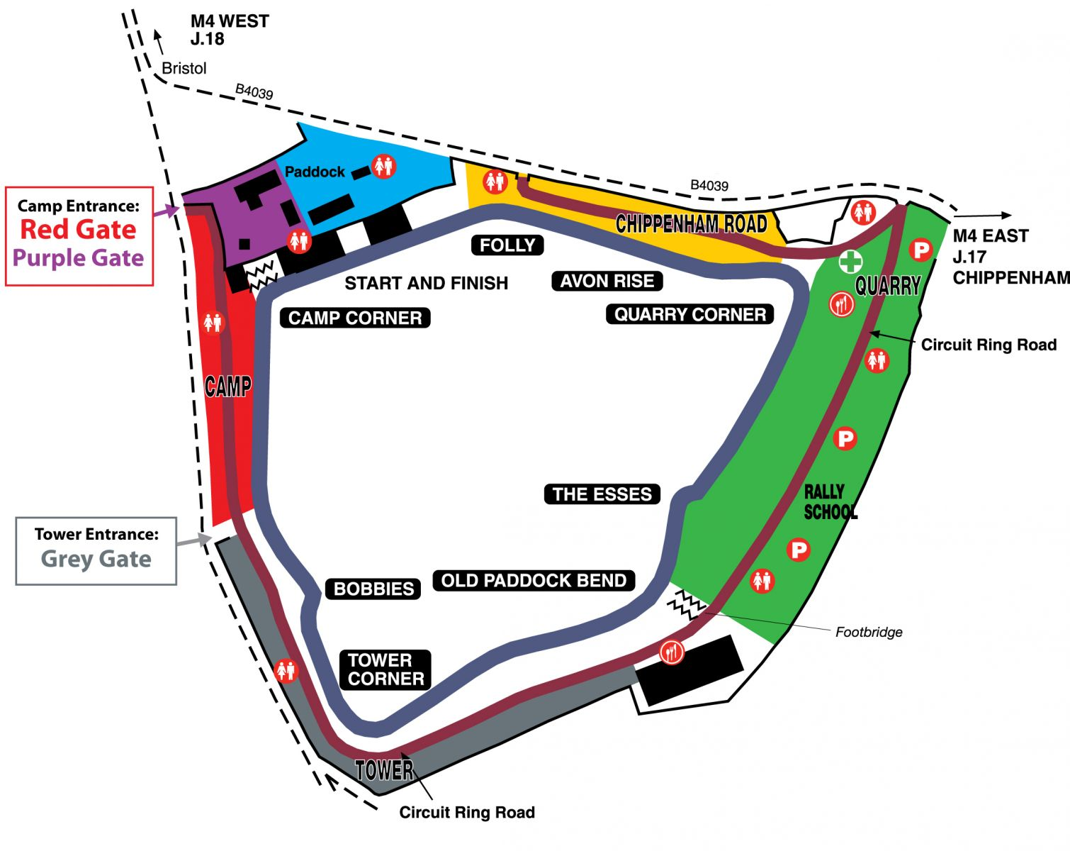 castle combe circuit map